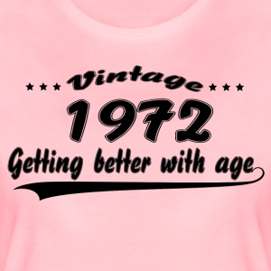 Vintage 1972 Getting Better With Age T-Shirts - Women's Premium T-Shirt