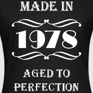 Made in 1978 T-shirts - Dame-T-shirt