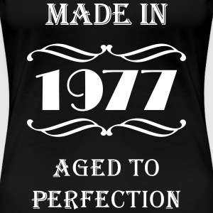 Made in 1977 T-shirts - Dame premium T-shirt
