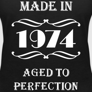 Made in 1974 T-Shirts - Women's V-Neck T-Shirt
