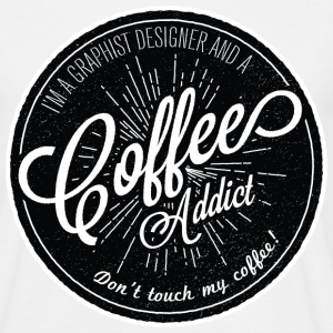 coffee addict - Men's T-Shirt
