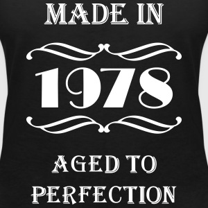 Made in 1978 T-Shirts - Women's V-Neck T-Shirt