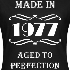 Made in 1977 Tee shirts - T-shirt Femme