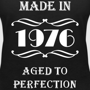 Made in 1976 T-shirts - Vrouwen T-shirt met V-hals