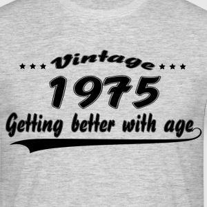 Vintage 1975 Getting Better With Age T-Shirts - Men's T-Shirt