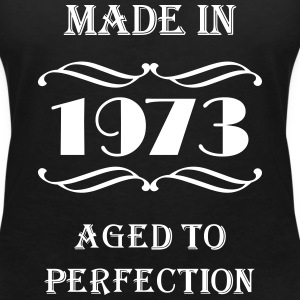 Made in 1973 T-shirts - Vrouwen T-shirt met V-hals
