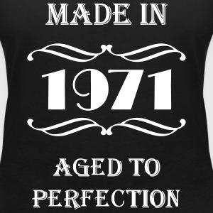 Made in 1971 T-shirts - Vrouwen T-shirt met V-hals