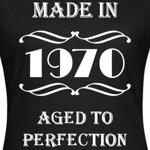 Made in 1970 Tee shirts - T-shirt Femme