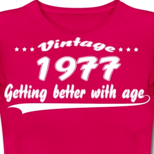 Vintage 1977 Getting Better With Age T-Shirts - Women's T-Shirt