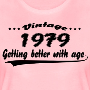 Vintage 1979 Getting Better With Age T-Shirts - Women's Premium T-Shirt