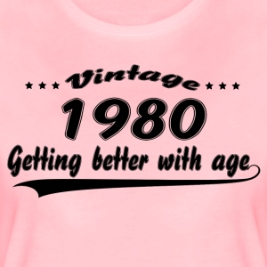 Vintage 1980 Getting Better With Age T-Shirts - Women's Premium T-Shirt