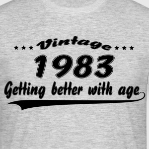 Vintage 1983 Getting Better With Age T-Shirts - Men's T-Shirt