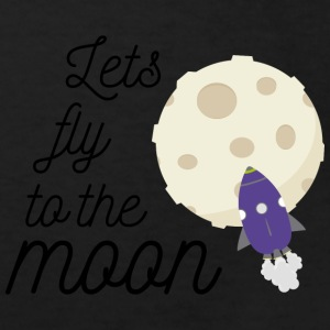 fly to the moon T-shirts - Organic børne shirt