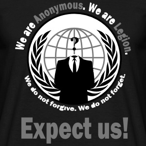 Anonymous - T-Shirt - Männer T-Shirt