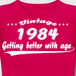 Vintage 1984 Getting Better With Age T-Shirts - Women's T-Shirt