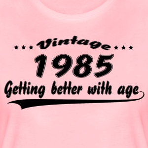 Vintage 1985 Getting Better With Age T-Shirts - Women's Premium T-Shirt