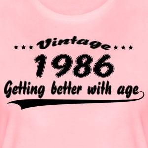 Vintage 1986 Getting Better With Age T-Shirts - Women's Premium T-Shirt