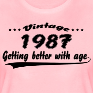 Vintage 1987 Getting Better With Age T-Shirts - Women's Premium T-Shirt