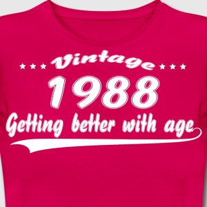 Vintage 1988 Getting Better With Age T-Shirts - Women's T-Shirt