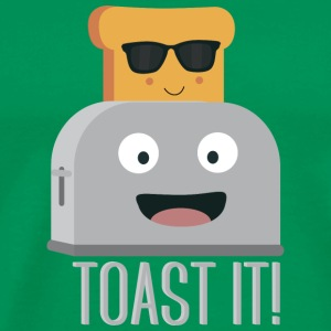 Toaster with bread T-Shirts - Men's Premium T-Shirt