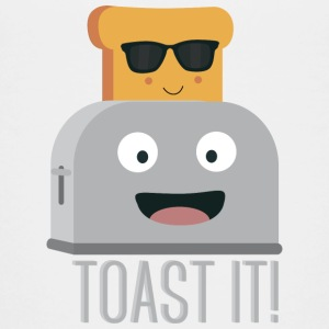 Toaster with bread Shirts - Teenage Premium T-Shirt