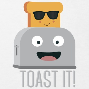 Toaster with bread Shirts - Kids' Organic T-shirt