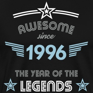 Awesome since 1996 T-Shirts - Männer Premium T-Shirt