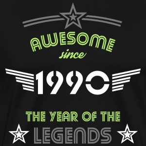 Awesome since 1990 T-Shirts - Männer Premium T-Shirt