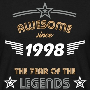 Awesome since 1998 T-Shirts - Männer T-Shirt