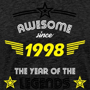 Awesome since 1998 T-Shirts - Männer Premium T-Shirt