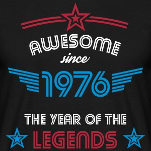 Awesome since 1976 T-Shirts - Männer T-Shirt