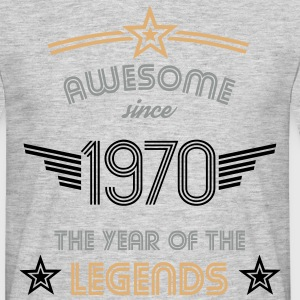 Awesome since 1970 T-Shirts - Männer T-Shirt