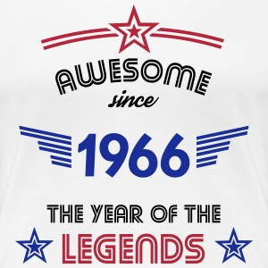 Awesome since 1966 T-Shirts - Frauen Premium T-Shirt