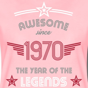 Awesome since 1970 T-Shirts - Women's Premium T-Shirt