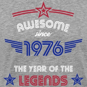 Awesome since 1976 T-Shirts - Männer Premium T-Shirt