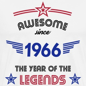 Awesome since 1966 T-Shirts - Männer Premium T-Shirt
