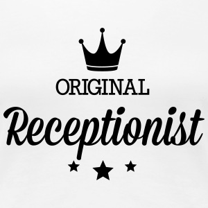 Original three star deluxe receptionist T-Shirts - Women's Premium T-Shirt