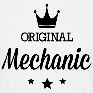 Original three star deluxe mechanic T-Shirts - Men's T-Shirt