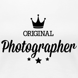 Original three star deluxe photographer T-Shirts - Women's Premium T-Shirt