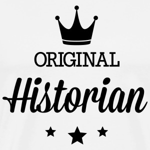 Original three star deluxe historians T-Shirts - Men's Premium T-Shirt