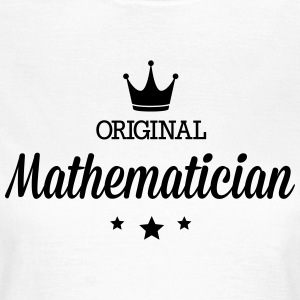 Original three star deluxe mathematician T-Shirts - Women's T-Shirt