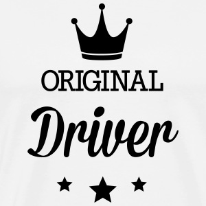 Original three star deluxe driver T-Shirts - Men's Premium T-Shirt