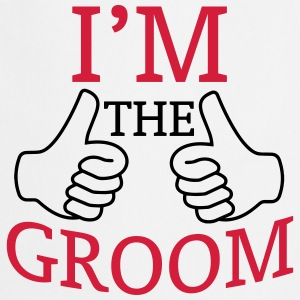 I AM THE GROOM (JGA-SHIRT)  Aprons - Cooking Apron