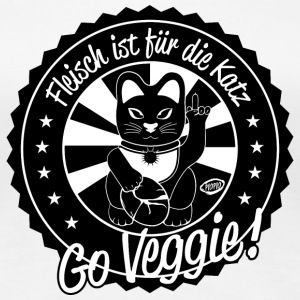 Veggie Cat - Frauen Premium T-Shirt