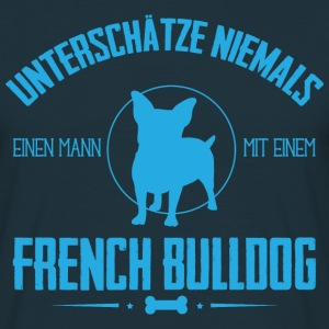 UNM French Bulldog T-Shirts - Männer T-Shirt