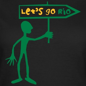 lets_go_rio__green T-Shirts - Women's T-Shirt
