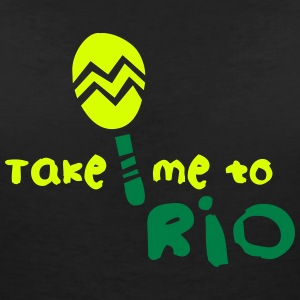 take_me_to_rio T-Shirts - Women's V-Neck T-Shirt