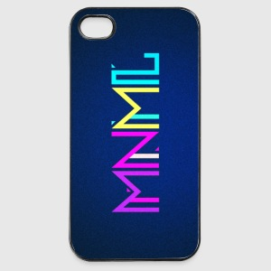 Minimal Type (Colorful) Typographie - Handy Cover Phone & Tablet Cases - iPhone 4/4s Hard Case