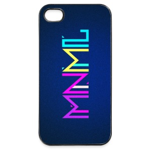 Minimal Type (Colorful) Typographie - Handy Cover Handy & Tablet Hüllen - iPhone 4/4s Hard Case