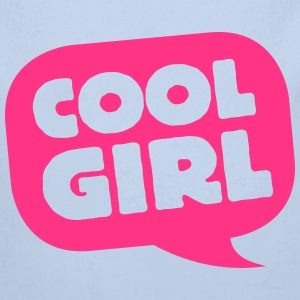 Cool Girl (dh) Baby Bodys - Baby Bio-Langarm-Body
